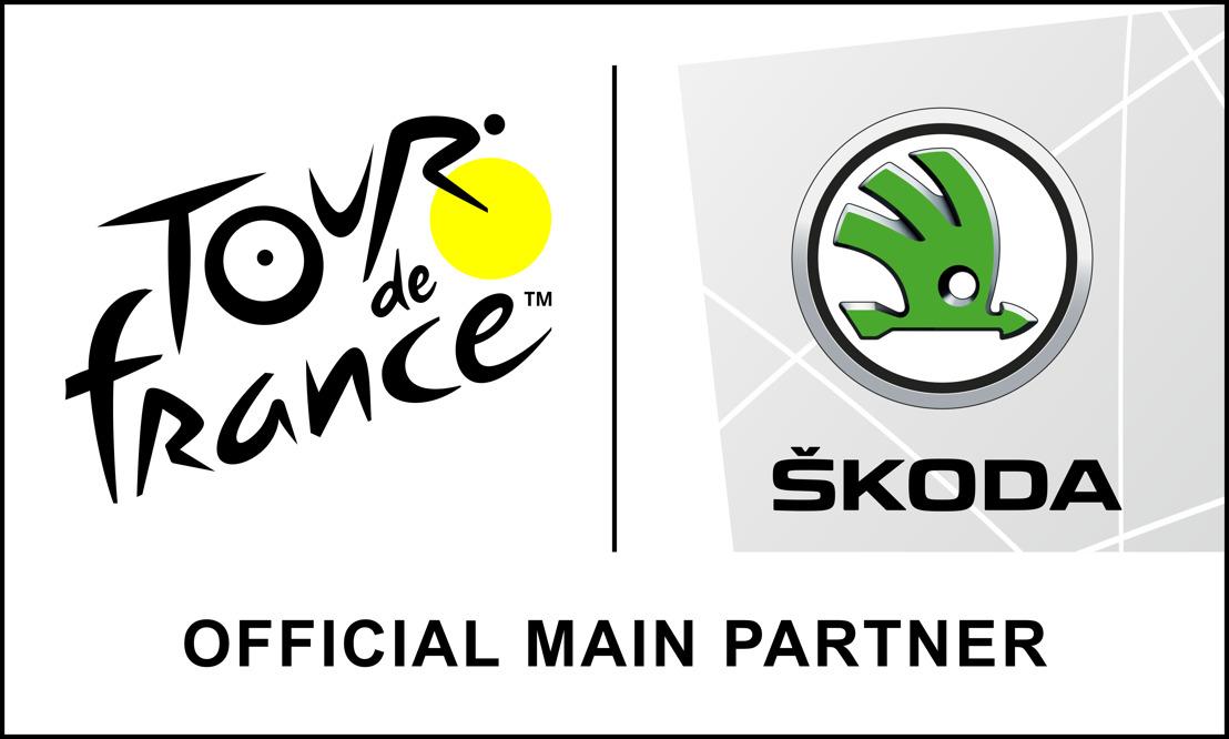 ŠKODA est le partenaire principal officiel du Tour de France pour la 18e année