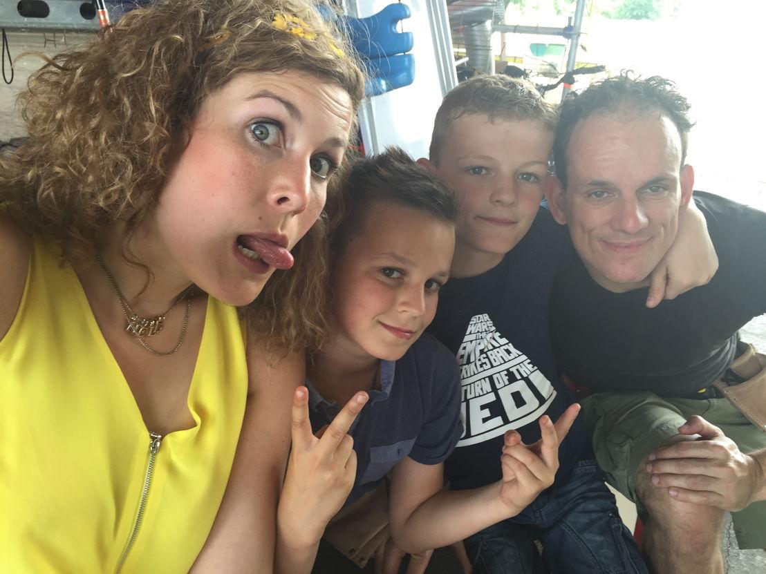 Week 1 - Familie Beenaerts en coach Maureen
