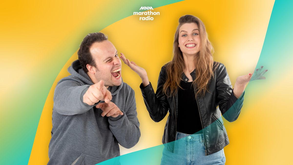 Laura en Sander gaan iets groots doen voor Marathonradio.