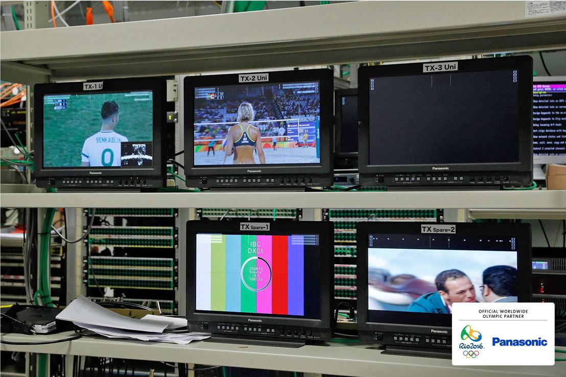 Panasonic @ JJOO Rio 2016 Equipo Video Broadcast