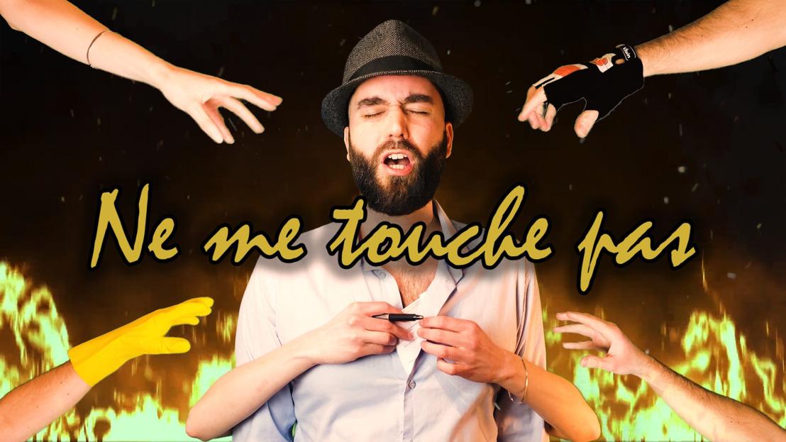 """GAUTIER SANS H : """"Ne me touche pas"""", sa nouvelle parodie Covid-19, composée cette fois sur la très célèbre musique de Jacques Brel."""