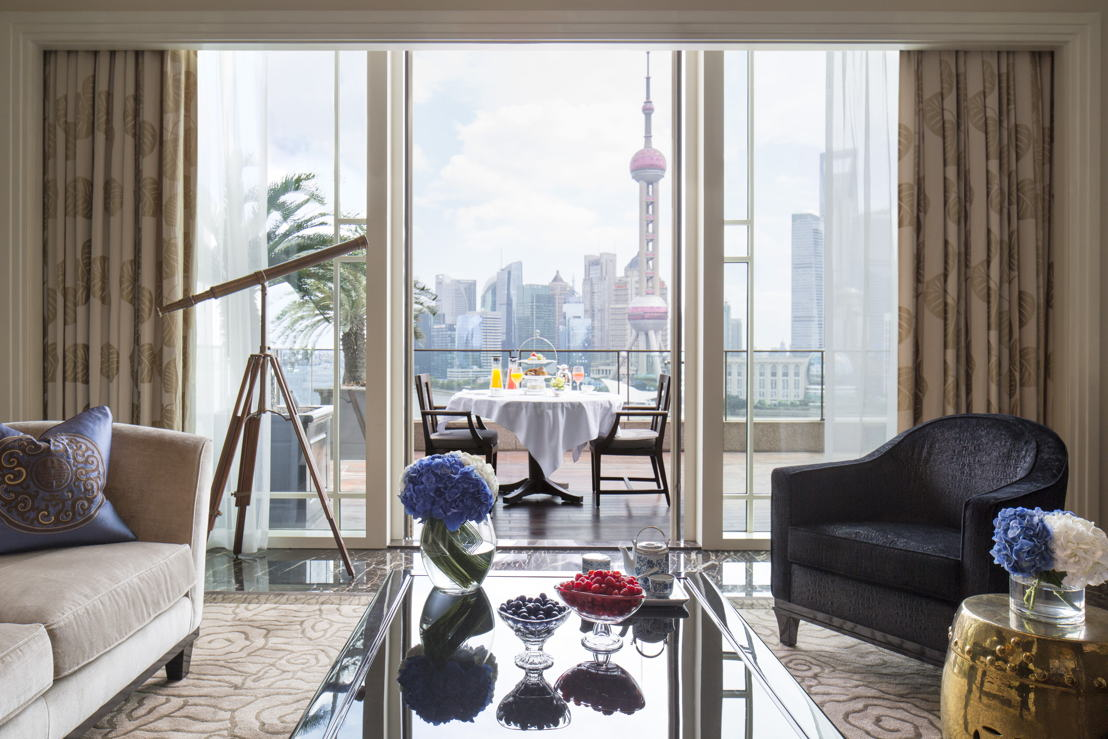 Astor Suite Living Room, The Peninsula Shanghai
