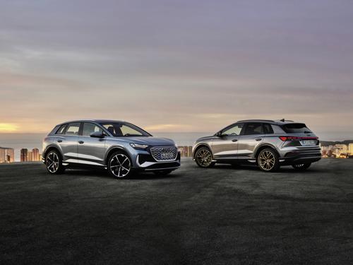 Électriques, efficientes et charismatiques : les Audi Q4 e-tron et Q4 Sportback e-tron
