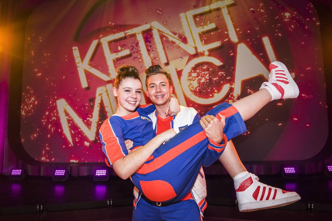 Ketnet Musical - Anke Verhoeven en Ruben Dejaegher - (c)VRT/ Alex Vanhee
