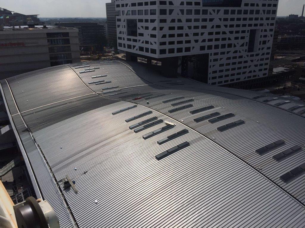 La gare d'Utrecht Centraal