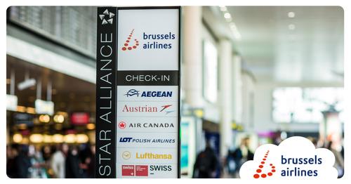 Brussels Airlines viert haar tiende verjaardag als lid van Star Alliance