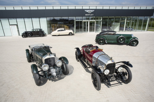 A CENTURY APART – BENTLEY BEGINS YEAR OF EXCLUSIVE CELEBRATIONS