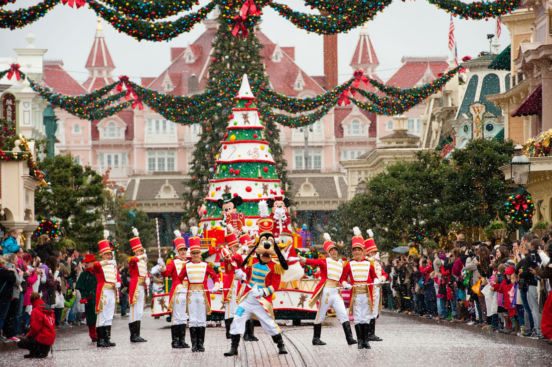 Het is alle dagen kerst in Disneyland® Paris !
