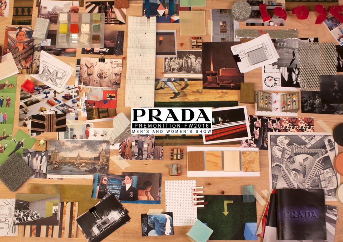 Prada presenta 'Premonition' y 'Chronicle', los nuevos proyectos para enmarcar la narrativa de la pasarela Otoño/Invierno 2016