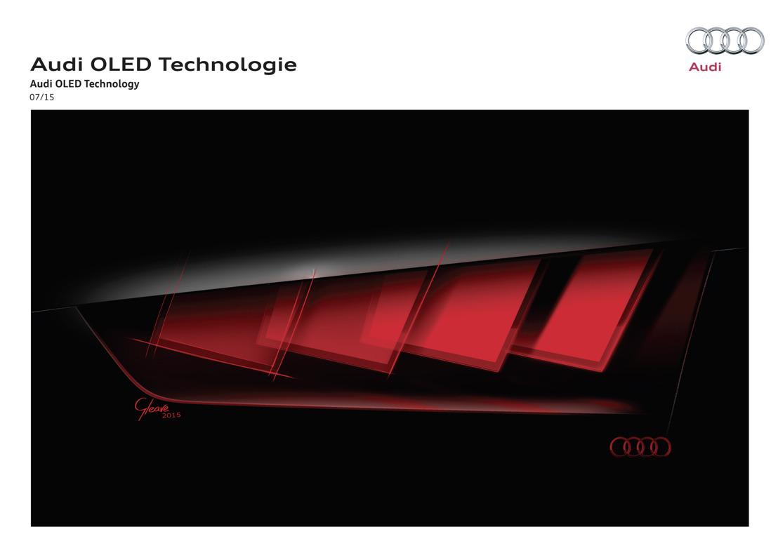Audi présente la dernière technologie d'éclairage au Salon de Francfort (IAA)