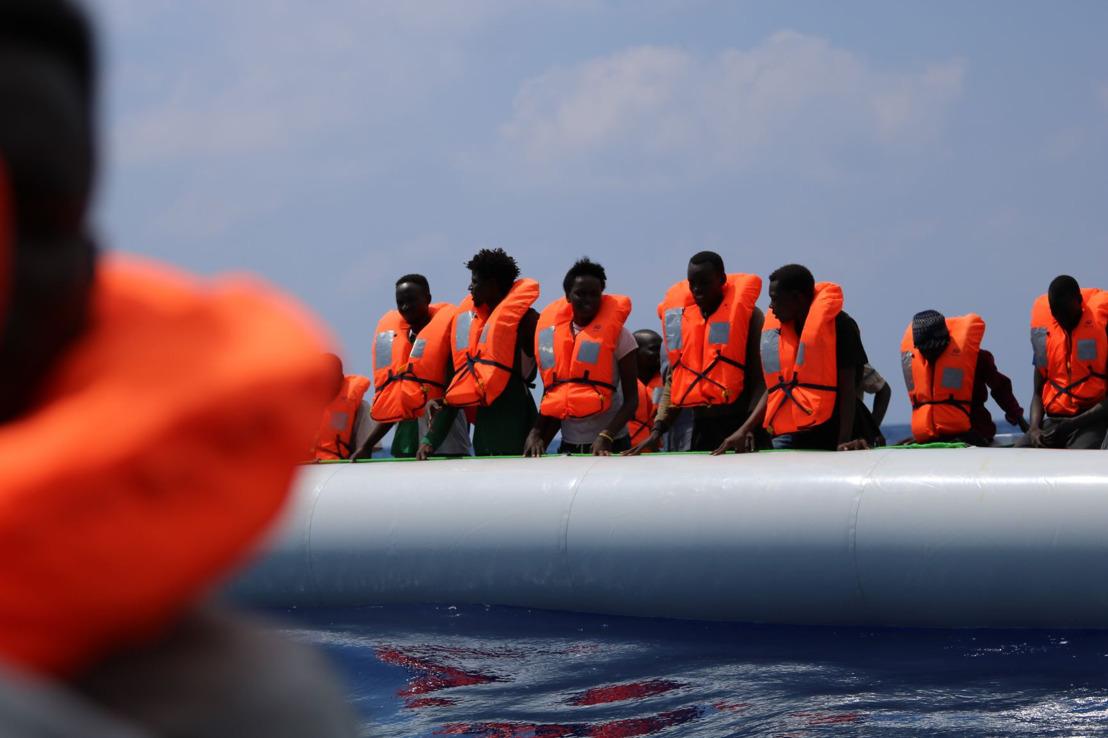 El Ocean Viking, con 170 personas a bordo tras un segundo rescate, seguirá en la zona de búsqueda y salvamento