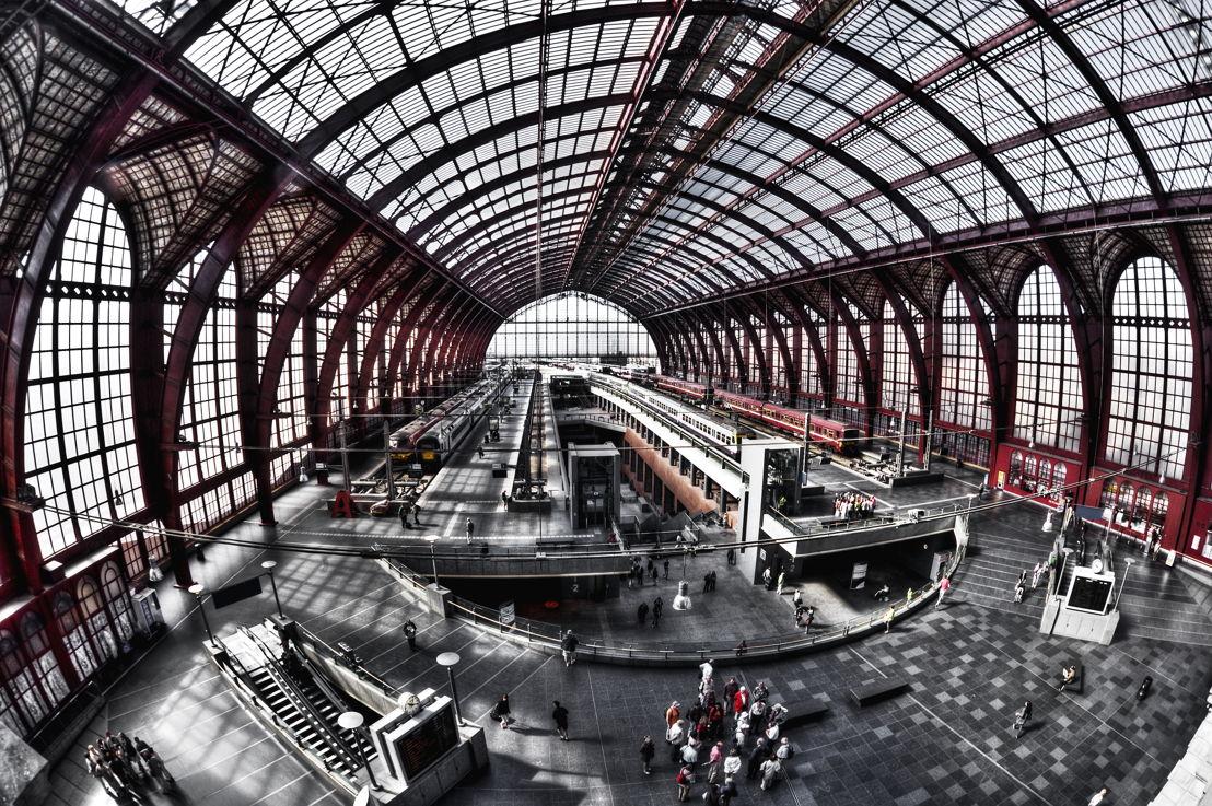 Architecture Central Station ©Antwerp Tourism & Conventions - Dave van Laere