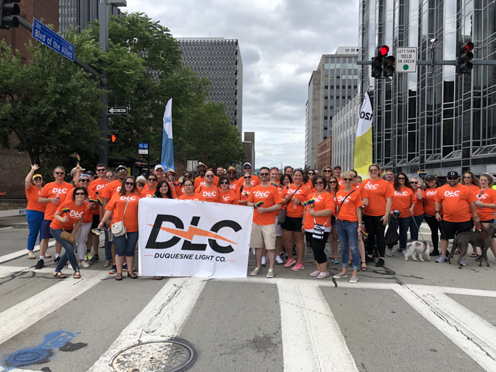 Employees Show Support during Pittsburgh Pride Equality March