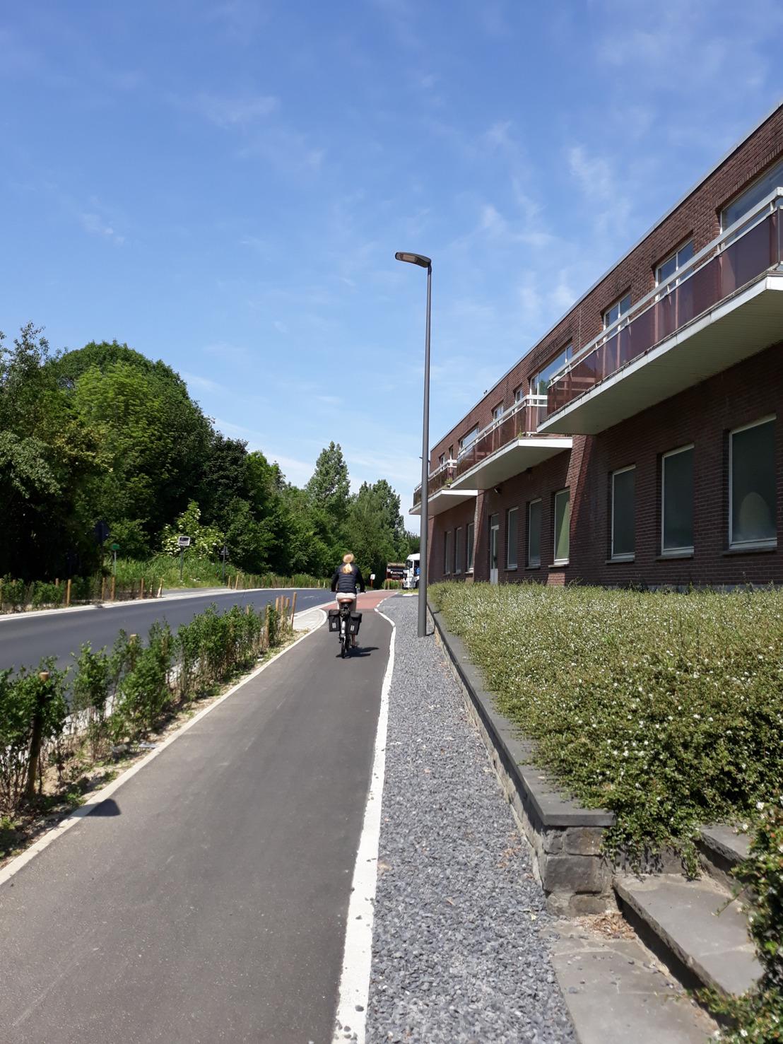 Provincie Vlaams-Brabant investeert 1.555.449,18 euro voor nieuwe fietspaden in Dilbeek