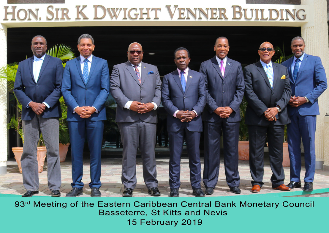 Communiqué of the 93rd Meeting of the Monetary Council of the Eastern Caribbean Central Bank Issued: 15 February 2019