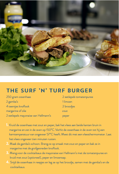 Recept The Surf 'n' Turf Burger