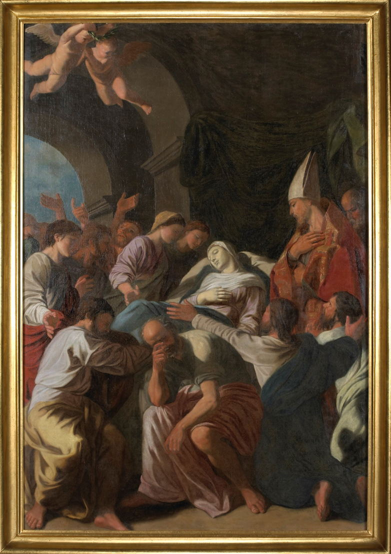 """""""Dood van de heilige maagd"""" van Nicolas Poussin"""