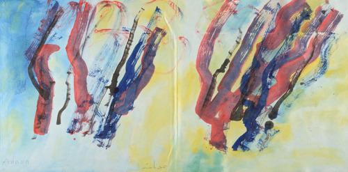 Libanese galerie Alice Mogabgab opent in Brussel met solotentoonstelling van Etel Adnan