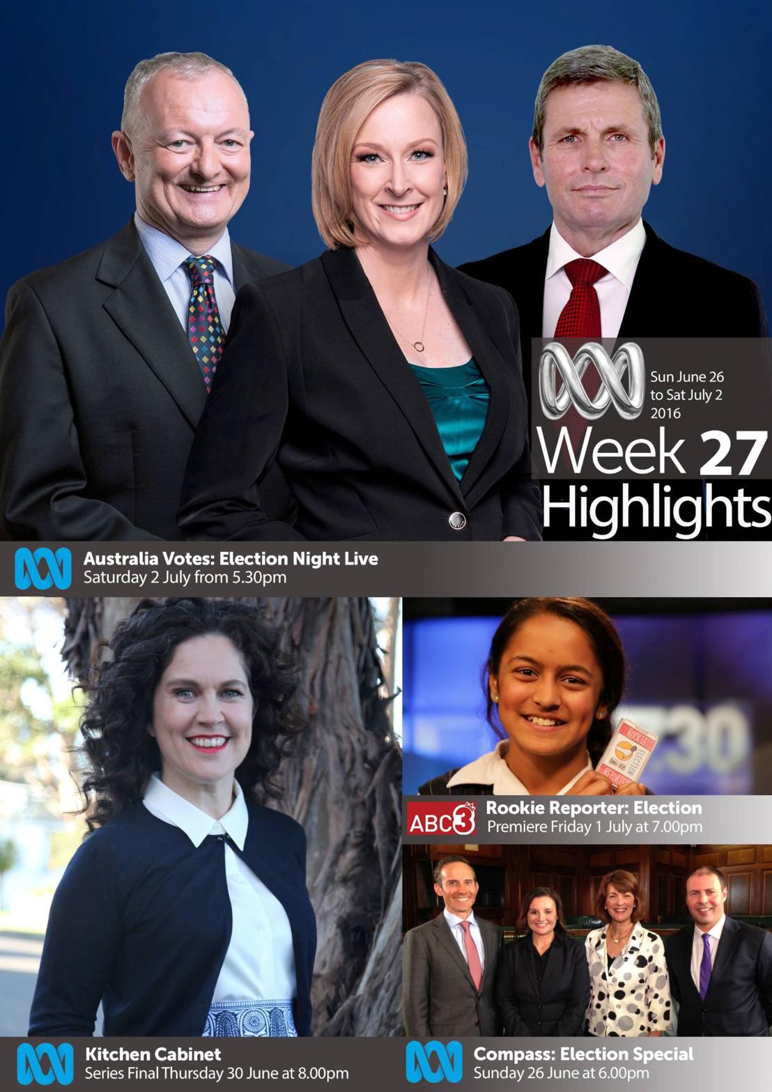 ABC Program Highlights - Week 27