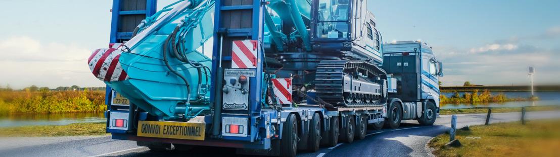 Nuevas rampas de 80 toneladas para Manoovr con ranura para excavadora