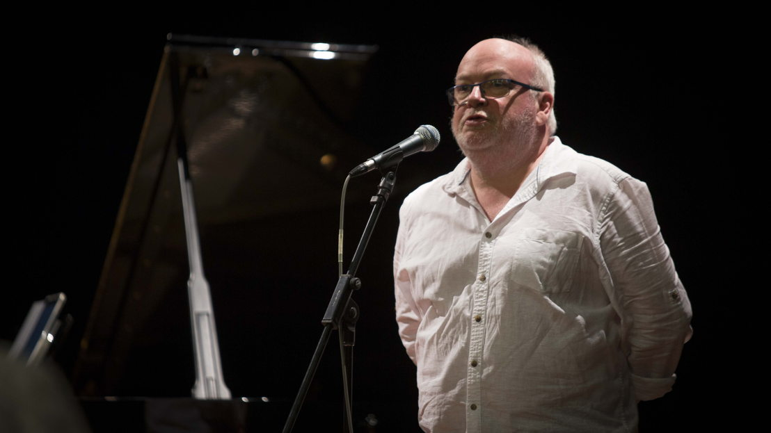 Composer Andrew Ford, new ANU Coombs Fellow. Image: Lannon Harley