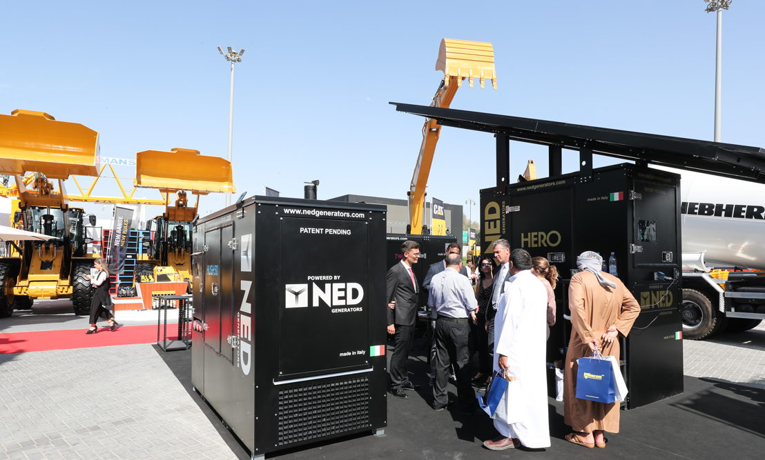 5. A world first: HERO by NED<br/><br/>Presented by Italian company NED Generators, HERO is the multi-source hybrid system providing energy to the most remote and inaccessible areas. A world first, HERO features a self-supporting photovoltaic system to charge its batteries, reducing management costs and improving efficiency. Meet with NED at Stand OS H30