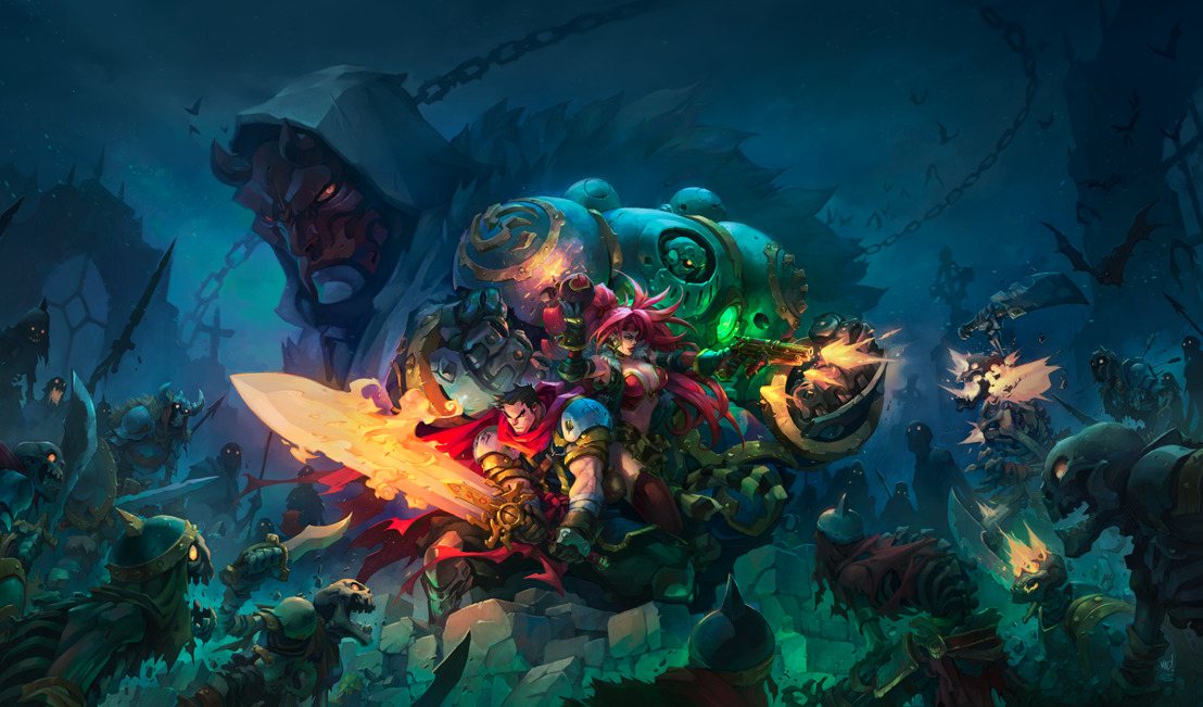 Chase 'em: Pre-Registration for Battle Chasers: Nightwar started