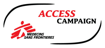 Médecins Sans Frontières (MSF) Access Campaign press room Logo