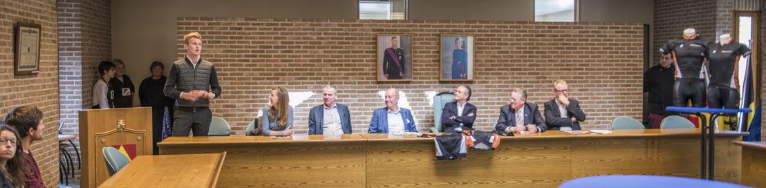 Ruben Van Gucht stelt zijn 'Voor de Ronde' voor