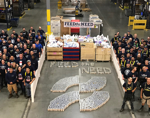 Ferguson celebrates Feed the Need by honoring associates' giving spirit