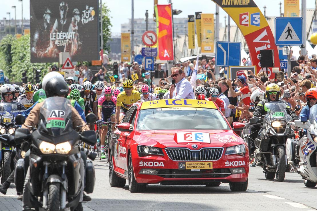 ŠKODA steunt de Ronde van Frankrijk voor de 14e keer