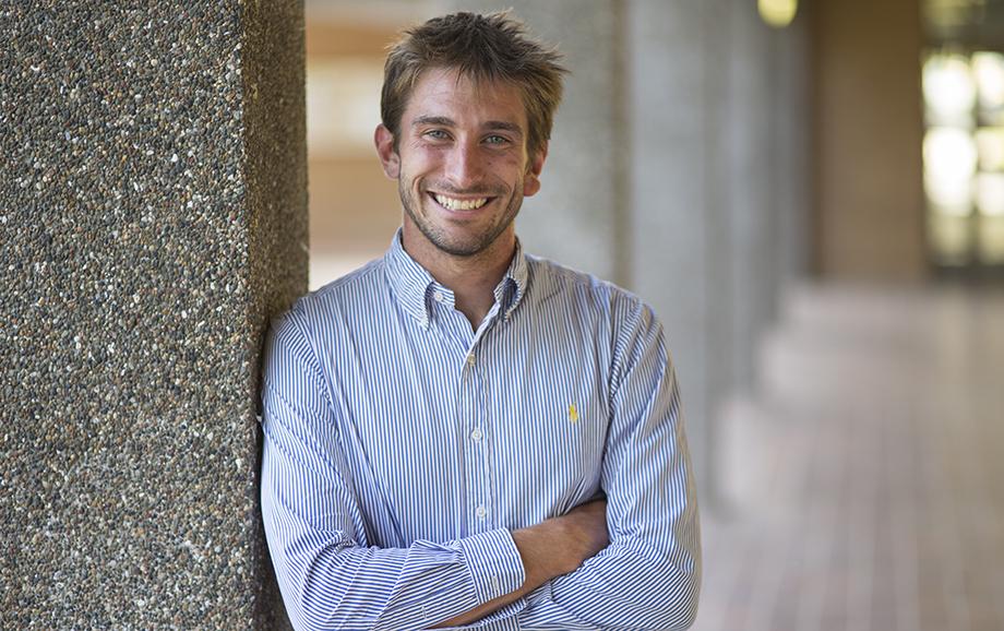 Jackson Bursill, Student Volunteer of the Year (Undergraduate). Image: Lannon Harley