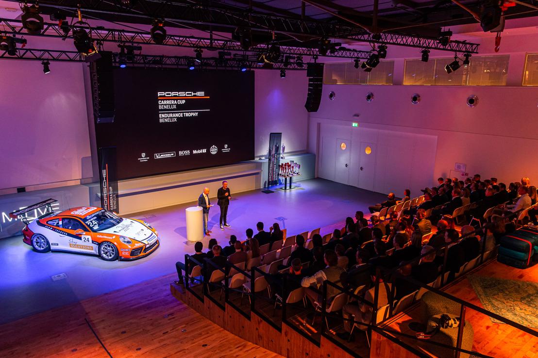 Les champions de la Porsche Carrera Cup Benelux fêtés à Amsterdam