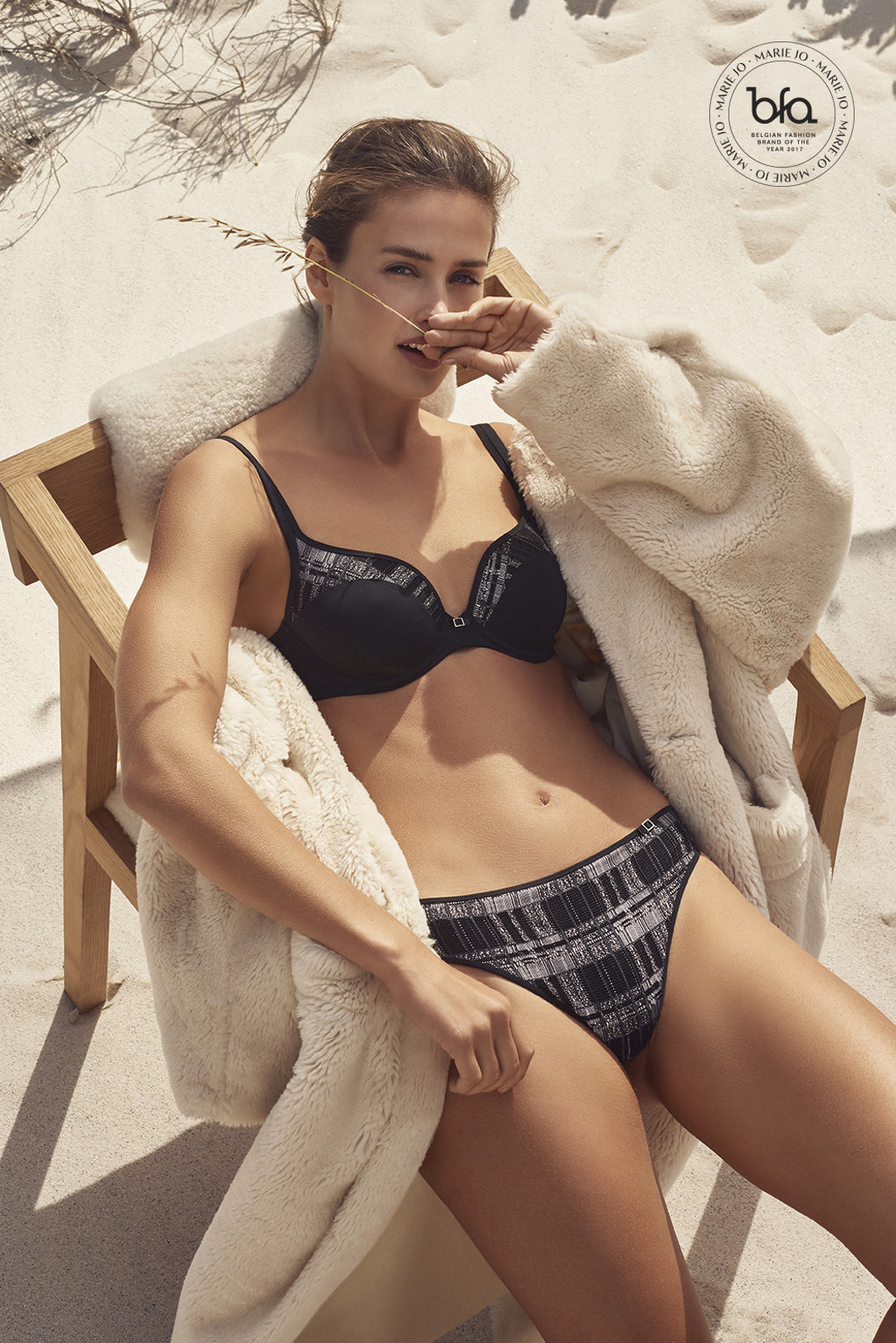 Marie Jo L'Aventure Winter 2018: skandinavisches Design übertragen auf Power-Lingerie
