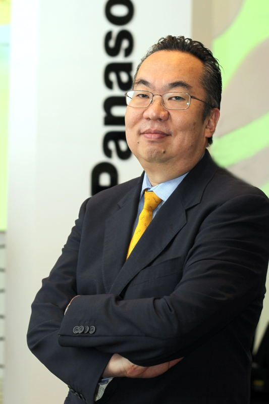 Ken Tsutsumi, director Grupo Soluciones de Panasonic de México