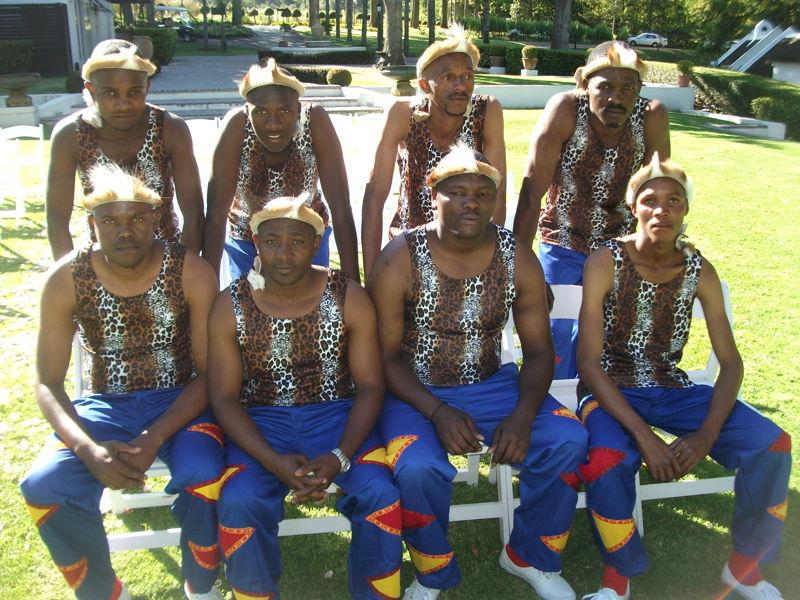 Zamanani Brothers Cultural Group - performing traditional Isicathamiya