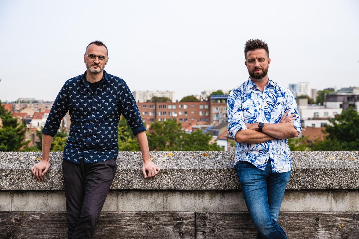 Ward Bogaert & Philip Heymans © Radio 1