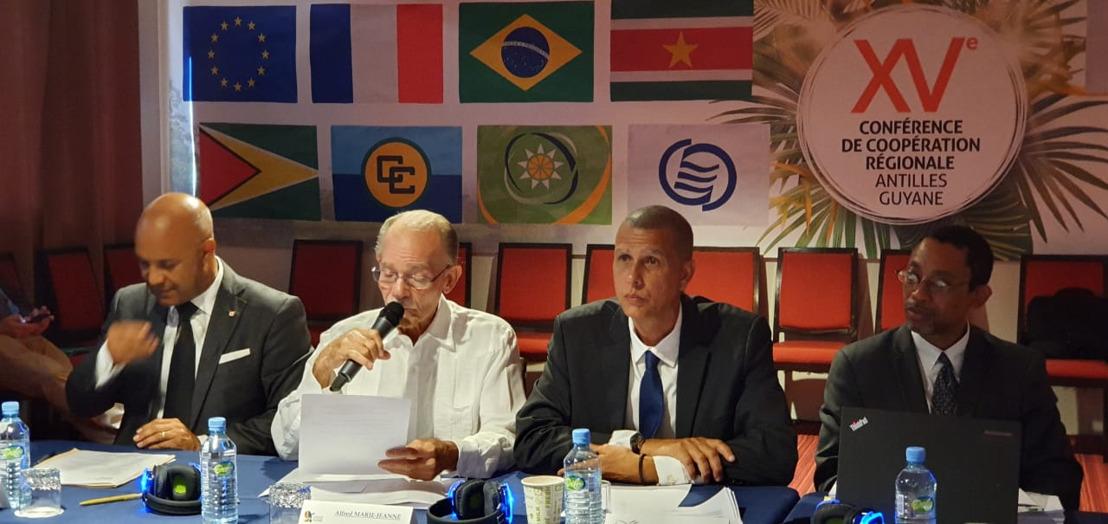 Le Président de la Collectivité Territoriale de Martinique en Guyane