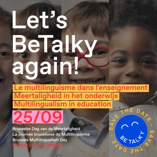 Save the date 25/9/21: La Journée bruxelloise du multilinguisme