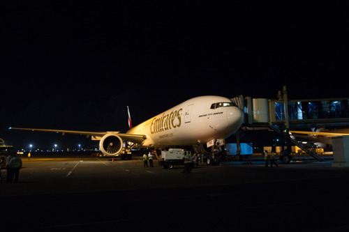 Emirates touches down in Bali