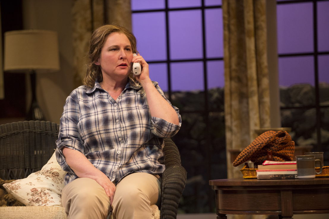Deborah Williams in Vanya and Sonia and Masha and Spike by Christopher Durang / Photos by David Cooper