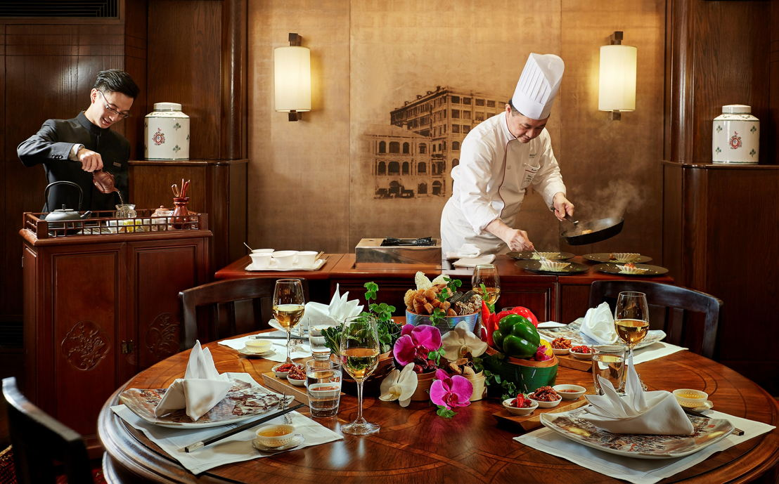 Spring Moon Chef's Table en The Peninsula Hong Kong
