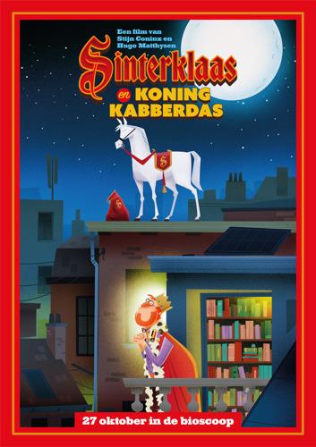 Sinterklaas en Koning Kabberdas dit najaar in de filmzalen
