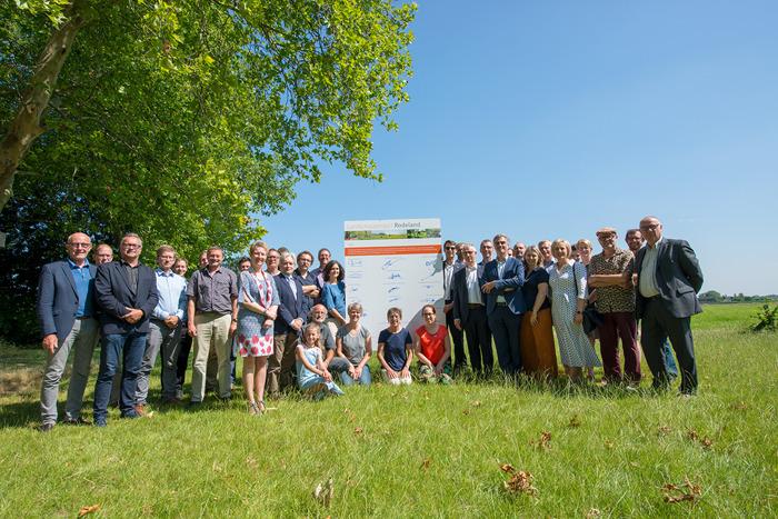 20 partners geven startschot voor landschapsproject Rodeland