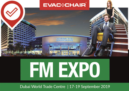 SHINING A LIGHT ON BEST PRACTICE EMERGENCY EVACUATION – EVAC+CHAIR AT FM EXPO 2019