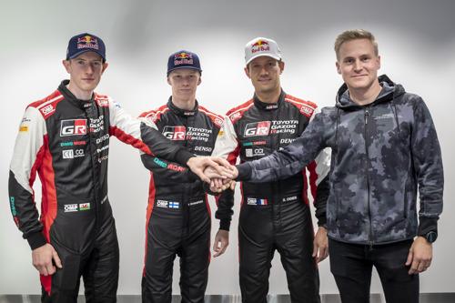 TOYOTA GAZOO Racing mise sur des champions aguerris pour une nouvelle ère du WRC