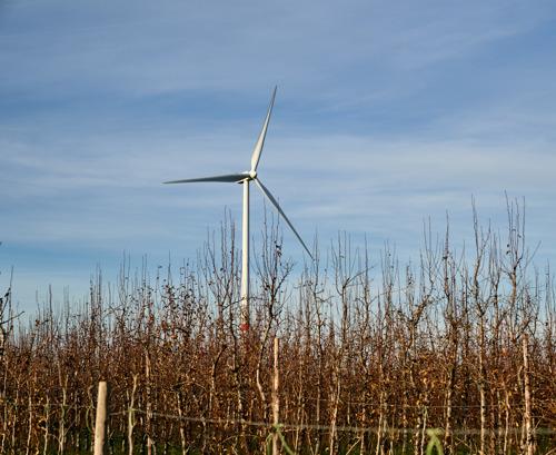 Een project van 7 nieuwe windturbines in Onhaye en Hastière