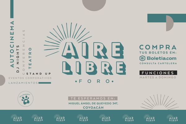 Preview: El show debe continuar: inauguran Foro Aire Libre para reactivar espectáculos en vivo en la CDMX