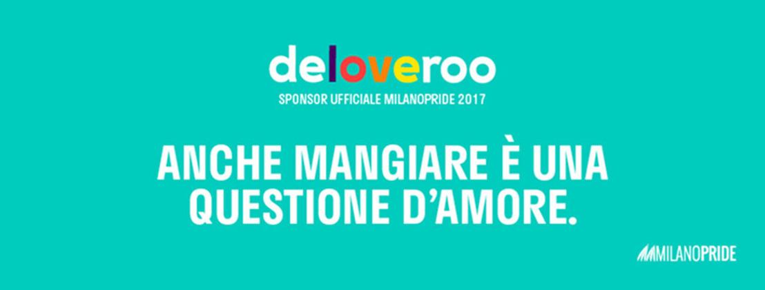 Mangia, Marcia, Ama: Deliveroo a fianco del MilanoPride 2017.