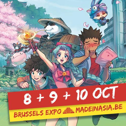 Made in Asia va donner le coup d'envoi de la saison des festivals post-COVID de Brussels Expo avec un samedi affichant déjà « sold-out ».